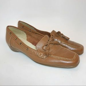 Sesto Meucci | Brown Leather Loafer Shoes Sz 10